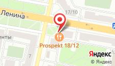 Апартаменты На Ленина 18 на карте