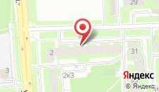 Апартаменты На Ижорского Батальона на карте