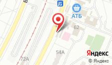 Отель Дельта на карте
