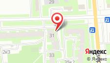 Апартаменты На Ижорского Батальона 4 на карте