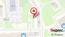 Апартаменты На Ижорского Батальона 9 на карте