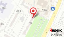 Хостел Worldhostel на карте