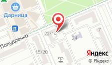 Апартаменты у Метро Дарница на карте