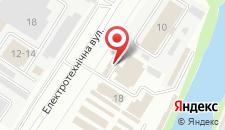 Мини-отель На Электротехнической 18 на карте