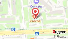 Отель Онегин на карте