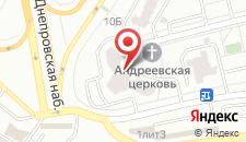 Апартаменты Осокорки 2 на карте