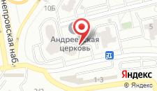 Апарт-отель naDobu Poznyaki на карте