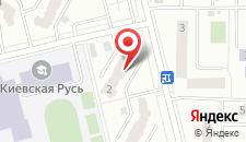 Апартаменты Киев на карте