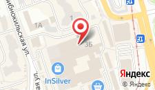 Апартаменты Соло на карте