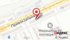 Отель Дарницкий на карте
