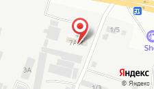 Гостиница Автотурист на карте