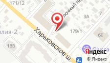 Отель Raziotel на карте