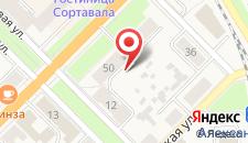 Апартаменты На Карельской на карте