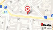 Отель Зирка на карте