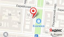 Отель Александровский на карте