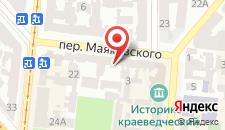 Мини-отель Как дома на карте