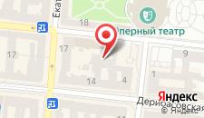 Отель Mozart на карте
