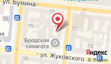 Отель Айвазовский на карте