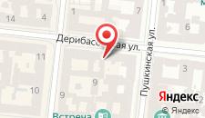 Отель Континенталь на карте