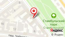 Гостиница Лондонская на карте
