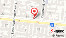 Апарт-отель Клумба на карте