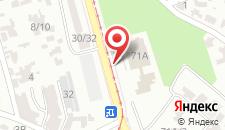 Отель Особняк на карте