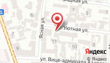 Отель Отрада на карте