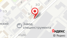 Отель Сергеевский на карте