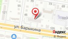 Апартаменты На Барыкина 113 на карте