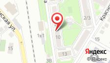 Апартаменты Impreza на Кисилева 10 на карте