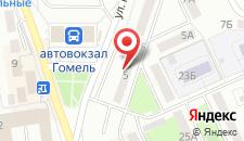 Апартаменты Курчатова 5 на карте