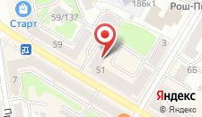 Апартаменты Your Home Apartment на карте