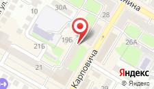 Апартаменты На Советской на карте