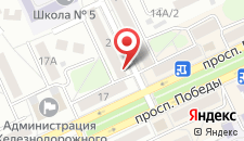 Апартаменты Impreza на Ветсковской 2 на карте