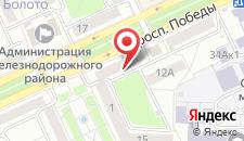 Апартаменты На Победы на карте