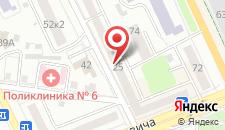 Апартаменты На улице Песина на карте