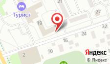 Отель Надзея на карте