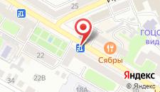 Апартаменты На Ленина 20 на карте