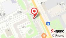 Апартаменты На Советской 46 на карте