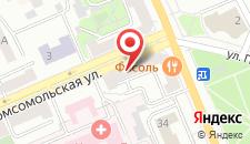 Апартаменты Impreza на Комсомольской 2 на карте