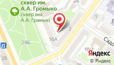 Апартаменты PaulMarie на Волотовской на карте
