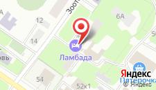 Отель Ламбада на карте