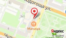 Гостиница Волхов на карте