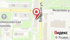 Хостел Velikiy Hostel на карте