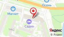 Гостиница Садко на карте