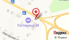 Мотель В Архиповке на карте