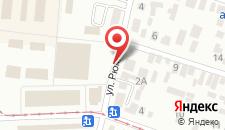 Отель Пилигрим на Рюмина на карте