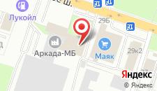 Гостиница Семь-40 на карте