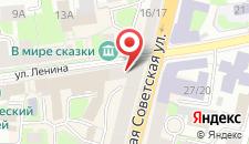Гостиница Апартаменты В Центре на карте