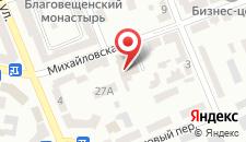Отель Премьер-Отель Компас Херсон на карте